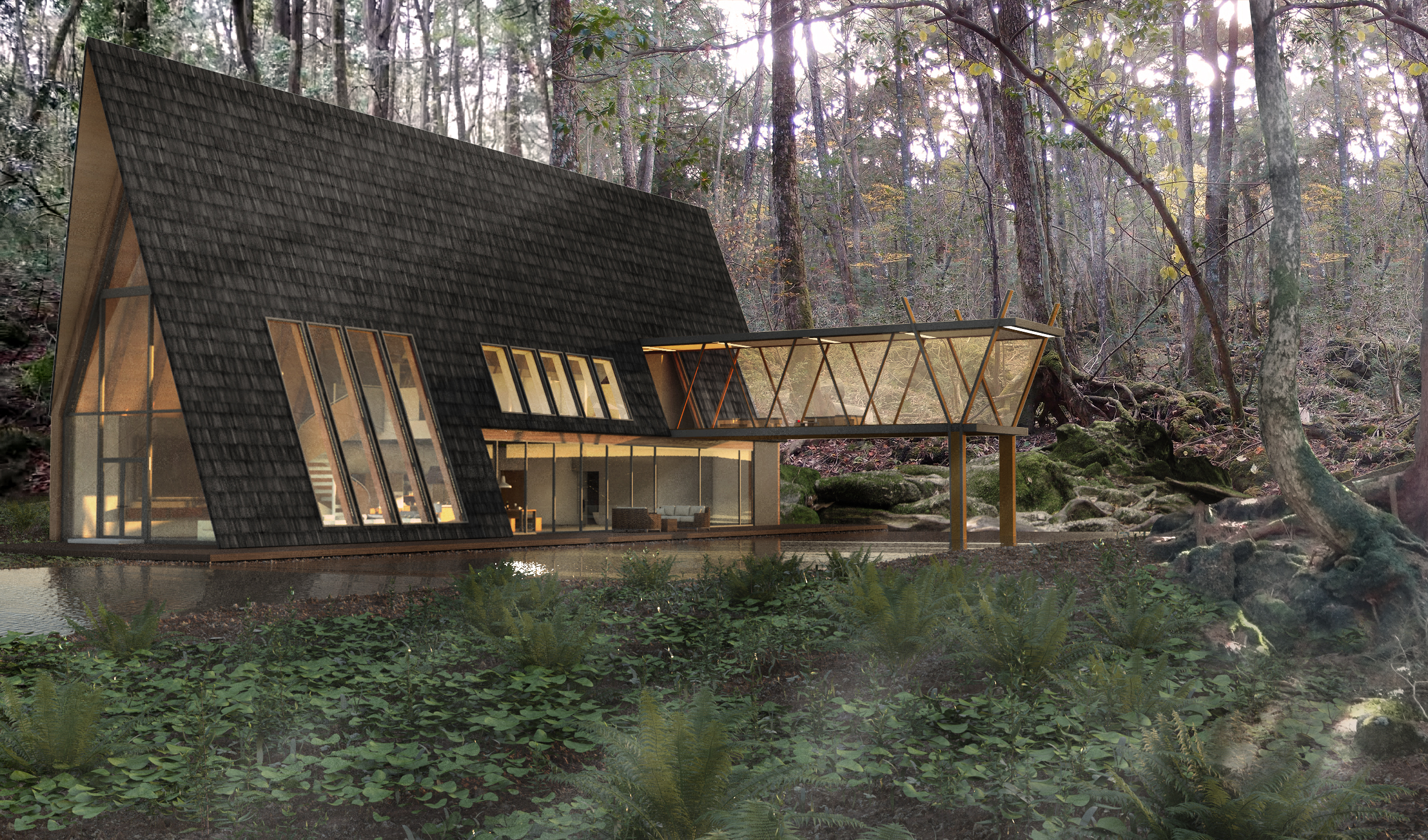 Forest-House-Render