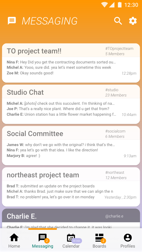 Messaging-Overview