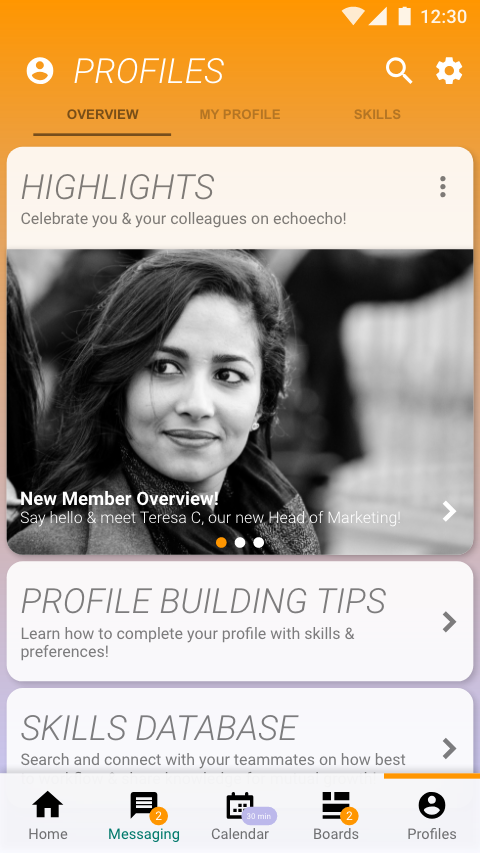Profile-Overview