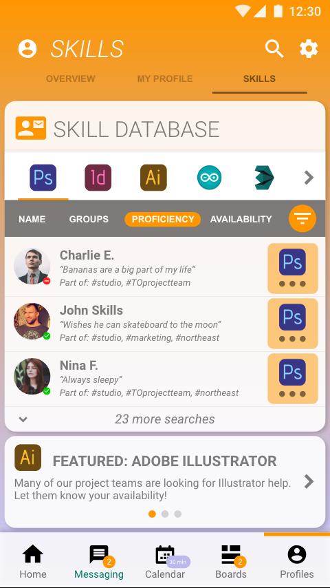 Profile-Skills