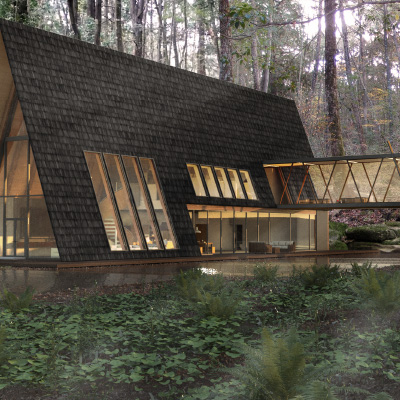 AERE / House In Forest